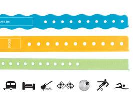 ClearImage Vinyl-Armbänder