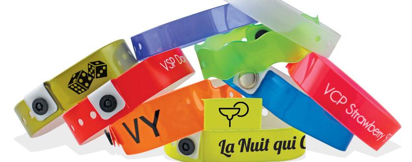 Vinyl Eintrittsbänder / Armbänder