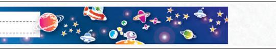 Bild EIntrittsband Tyvek Weltraum