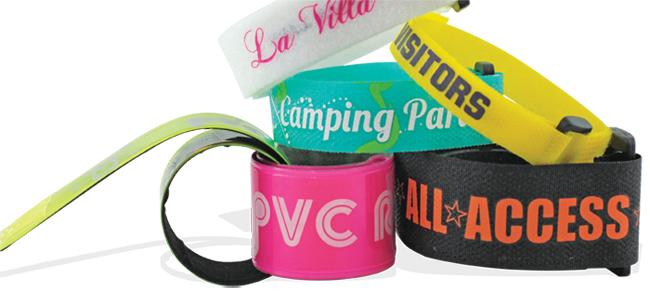 Bild Klettband und Rollband Armbänder