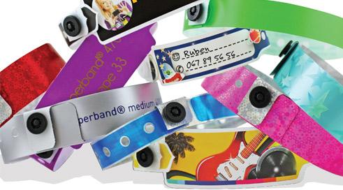 Bild Kunststoff und Holografie Armbänder