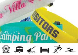 Klettband Armbänder