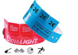Wrist-Rider Vinyl-Armbänder